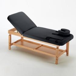 Table de massage Fixe réglable en hauteur avec dossier relevable