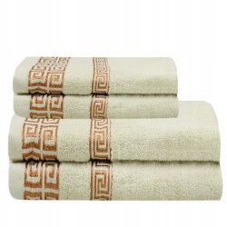 Set 4 Serviettes SPA salon de massage 140X70 cm