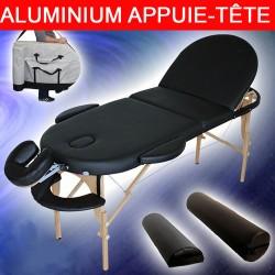 Table de massage 3 Zones Reiki Ovale Pliante 10 cm d'épaisseur