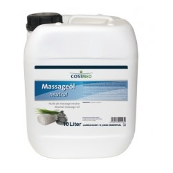 Huile de massage neutre 10 litres