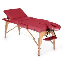Table de massage/estheticienne professionnelle Klarfit 3 zones Epaisseur 10 cm